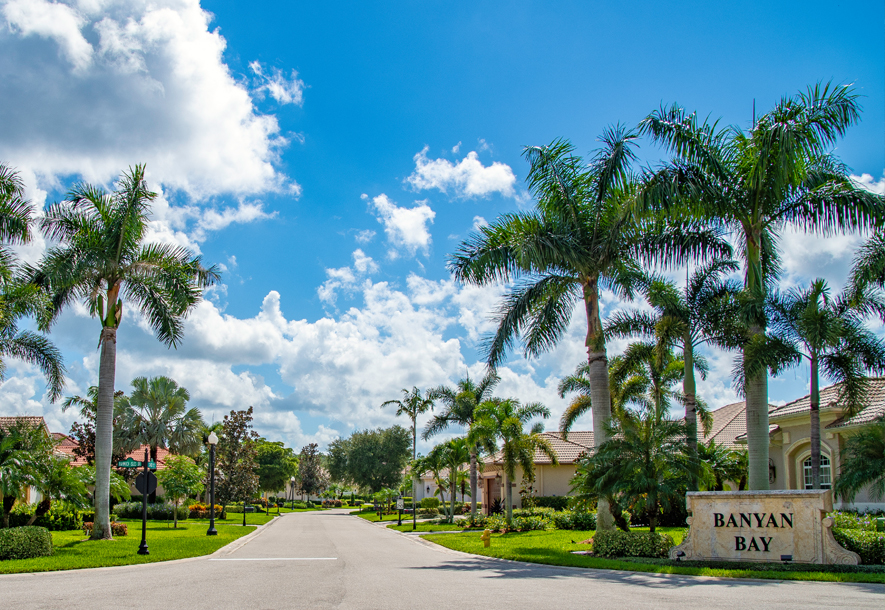 Entrance to Banyan Bay | Hammock Isles at The Vineyards HOA