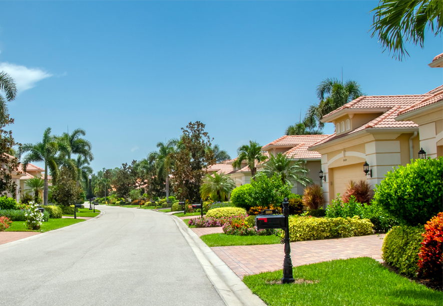 Street at Chestnut Grove Villas | Hammock Isles at The Vineyards HOA